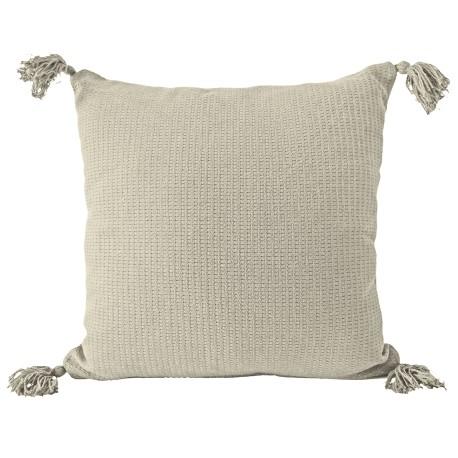 Poszewka na poduszkę z chwostami Olga 40x40 jasiek beżowa